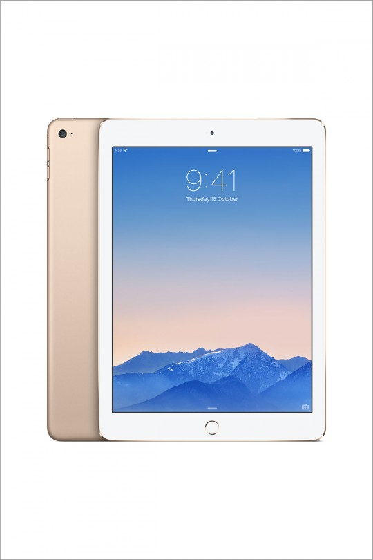 EOL Apple iPad Air 2 16GB Wi-Fi + Cellular - Gold
