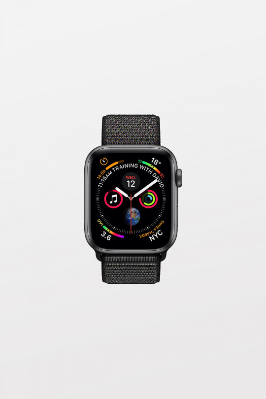 Apple Watch Series 4 - 44mm -  Space Grey Aluminium Case with Black Sport Loop