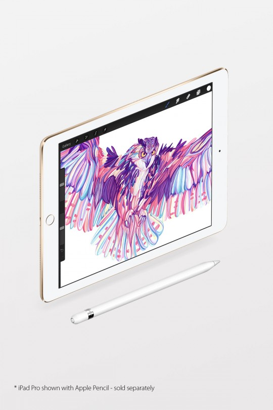Apple iPad Pro 9.7-inch Wi-Fi 128GB - Silver