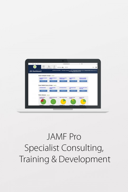 JAMF Pro (Casper Suite) - Specialist Consulting, Training & Development