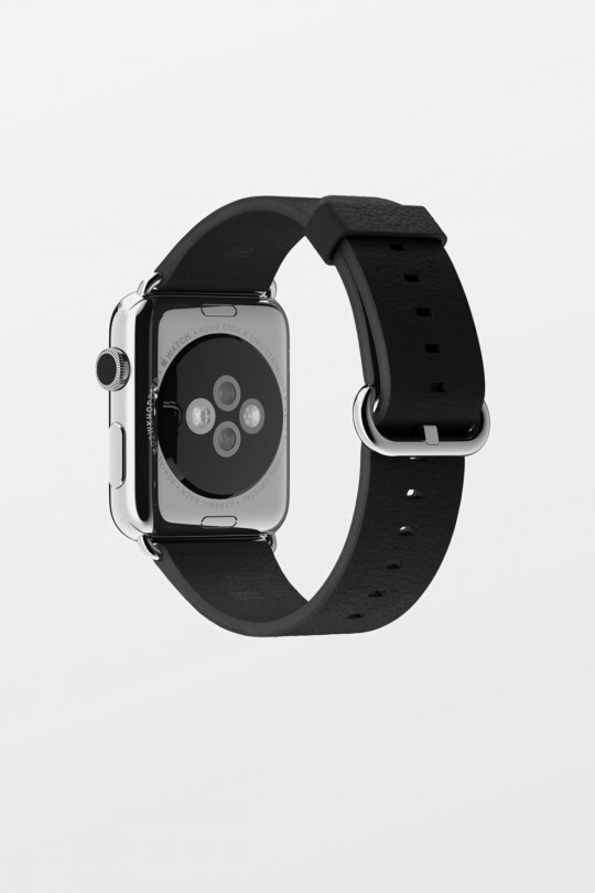 Apple Watch 42mm - Stainless Steel - Black Classic Buckle - Refurbished