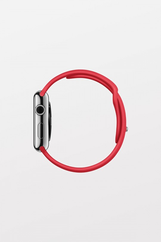 Apple Watch 38mm -  Stainless RED SPORT