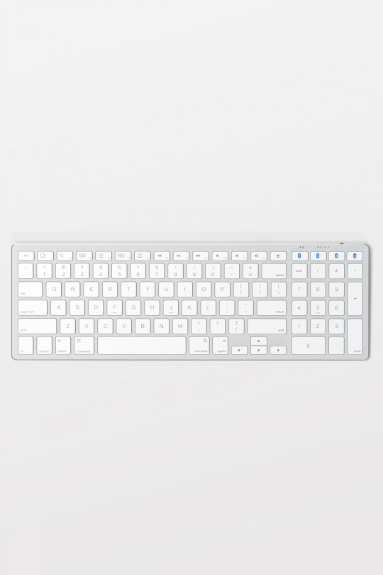 Satechi Slim Wireless Keyboard for Mac - Silver