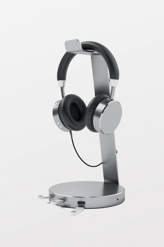 Satechi USB Aluminum Headphone Stand