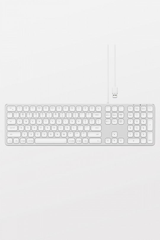 Satechi Wired Keyboard for Mac - Silver