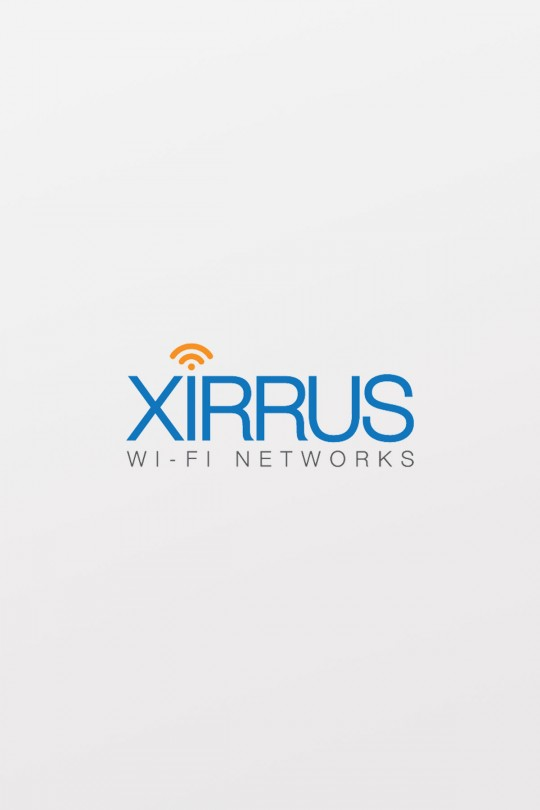 Xirrus XR-320 Access Point for wall plate installs with one 2.4GHz & one 5GHz radio, 802.11ac, 2x2