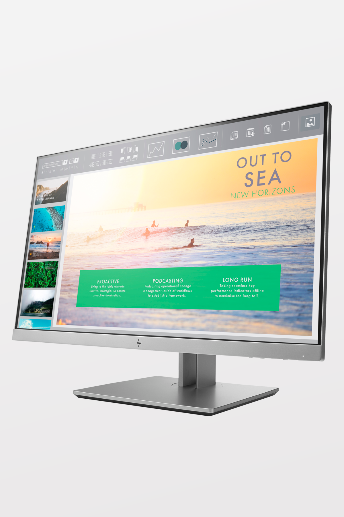 HP - EliteDisplay E233 23-inch Full HD Monitor - VGA/HDMI/DP