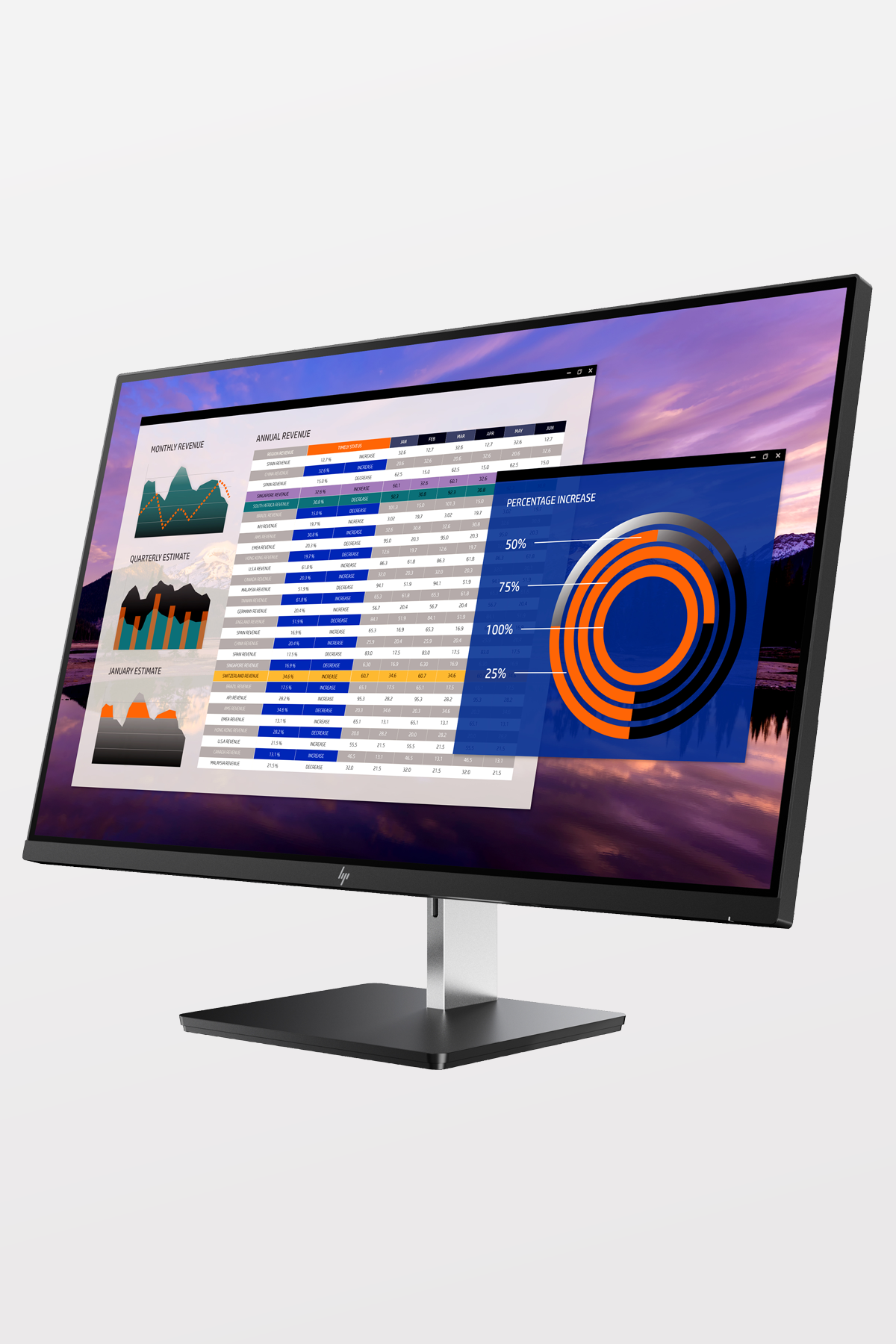 HP - EliteDisplay S270n 27-inch 4k Monitor - USB-C - 60W Power Output