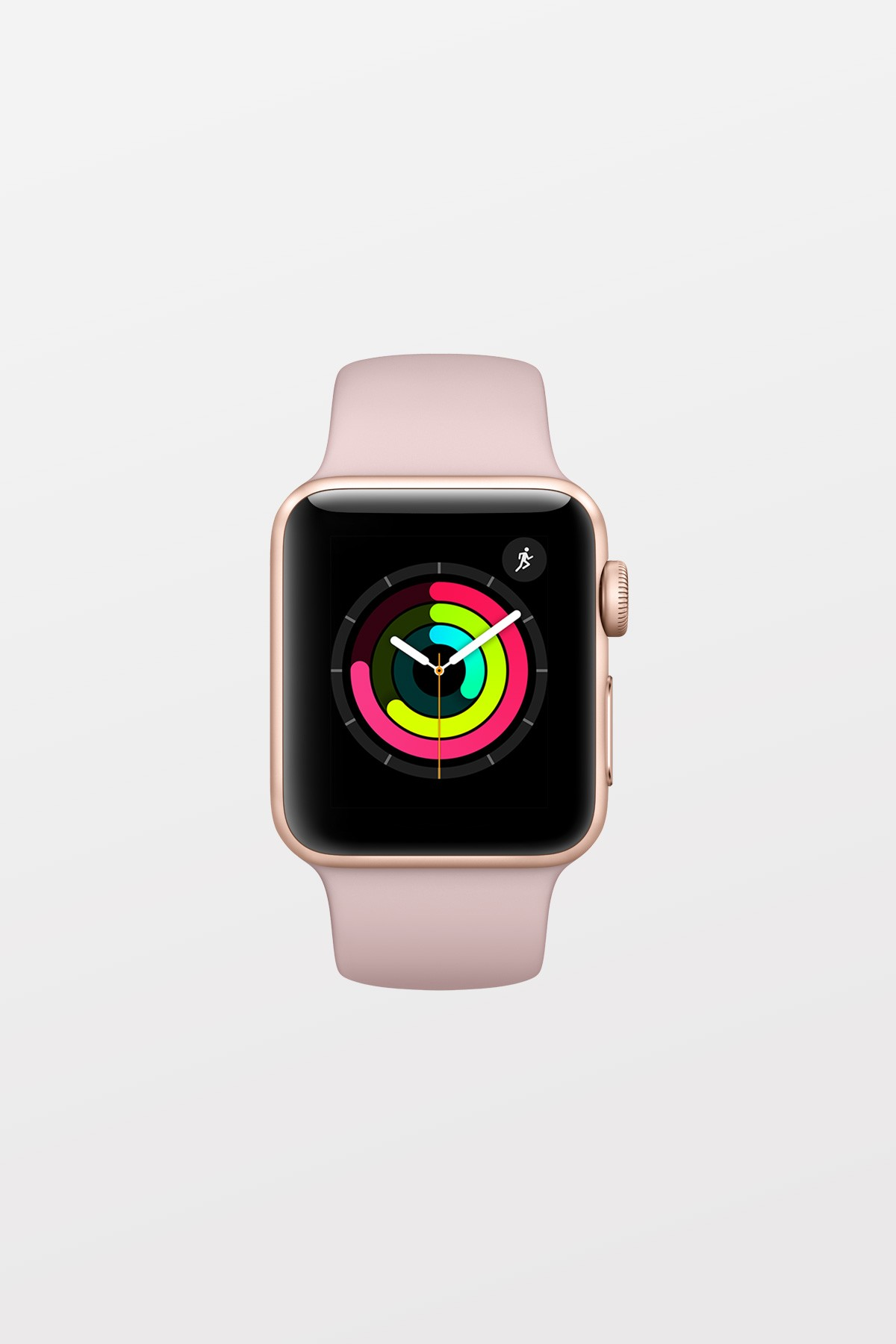 Apple Watch Series 3 GPS - 42mm - Gold Aluminium with Pink Sand Sport Band