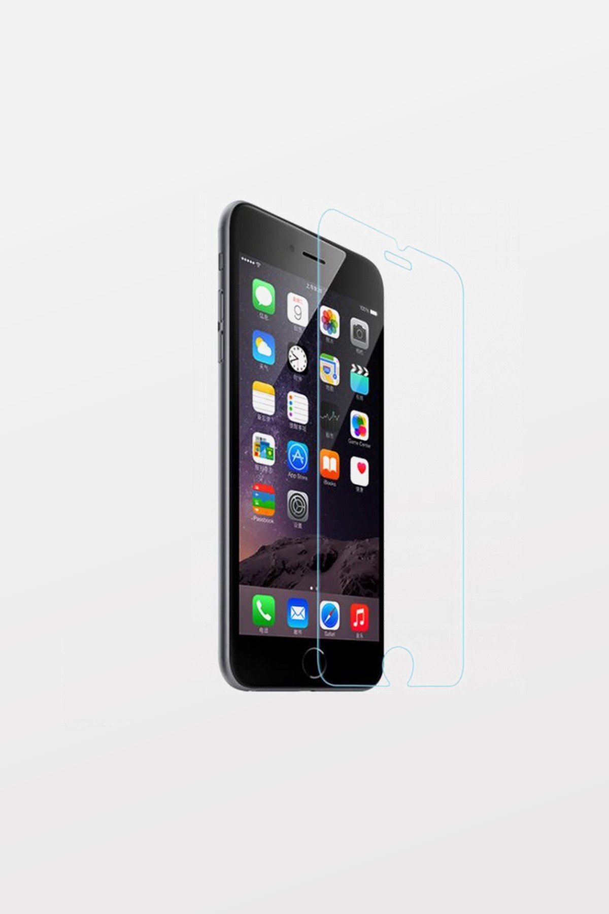 Max Premium Tempered Glass Screen Protector for iPhone 6 Plus