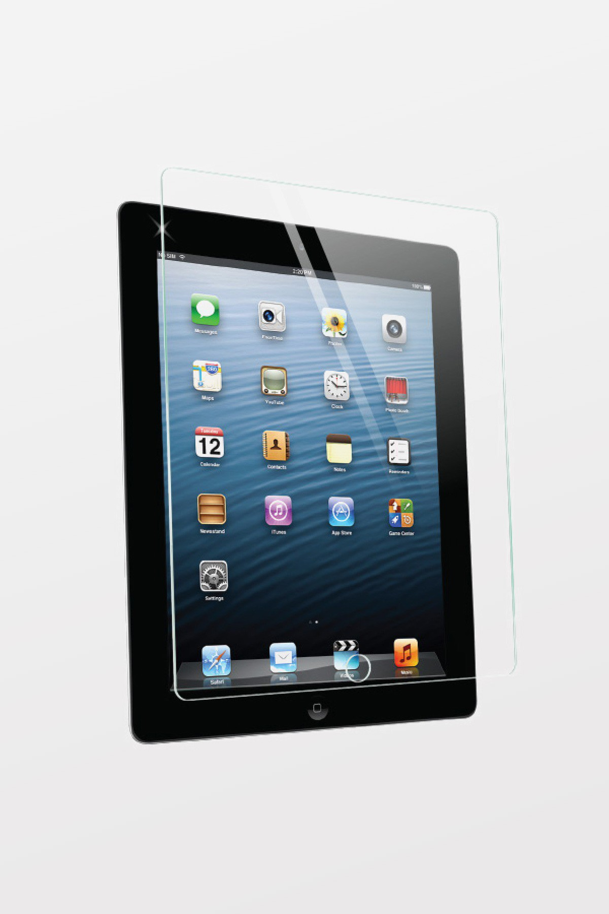 Max Premium Tempered Glass Screen Protector for iPad 2/3/4