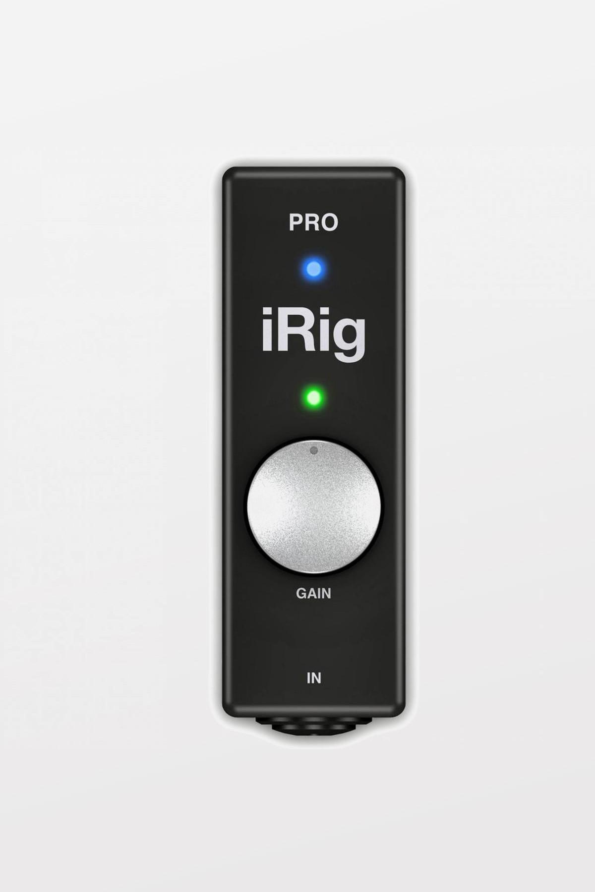 iRig PRO - Universal Audio/Midi interface for iOS and Mac