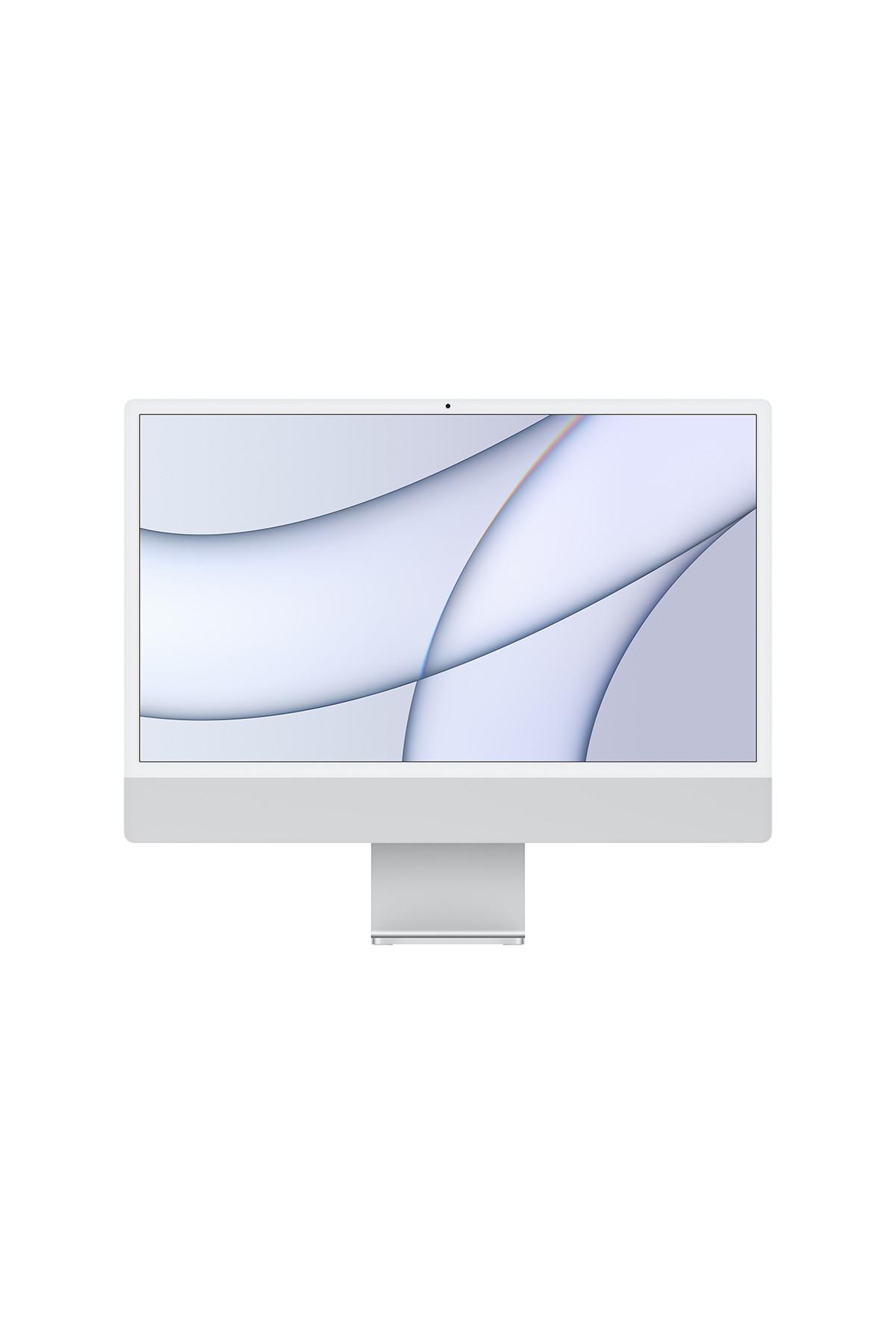 """Apple iMac 24"""" - 4.5K M1/8C CPU/8C GPU/8GB/256GB - Silver"""