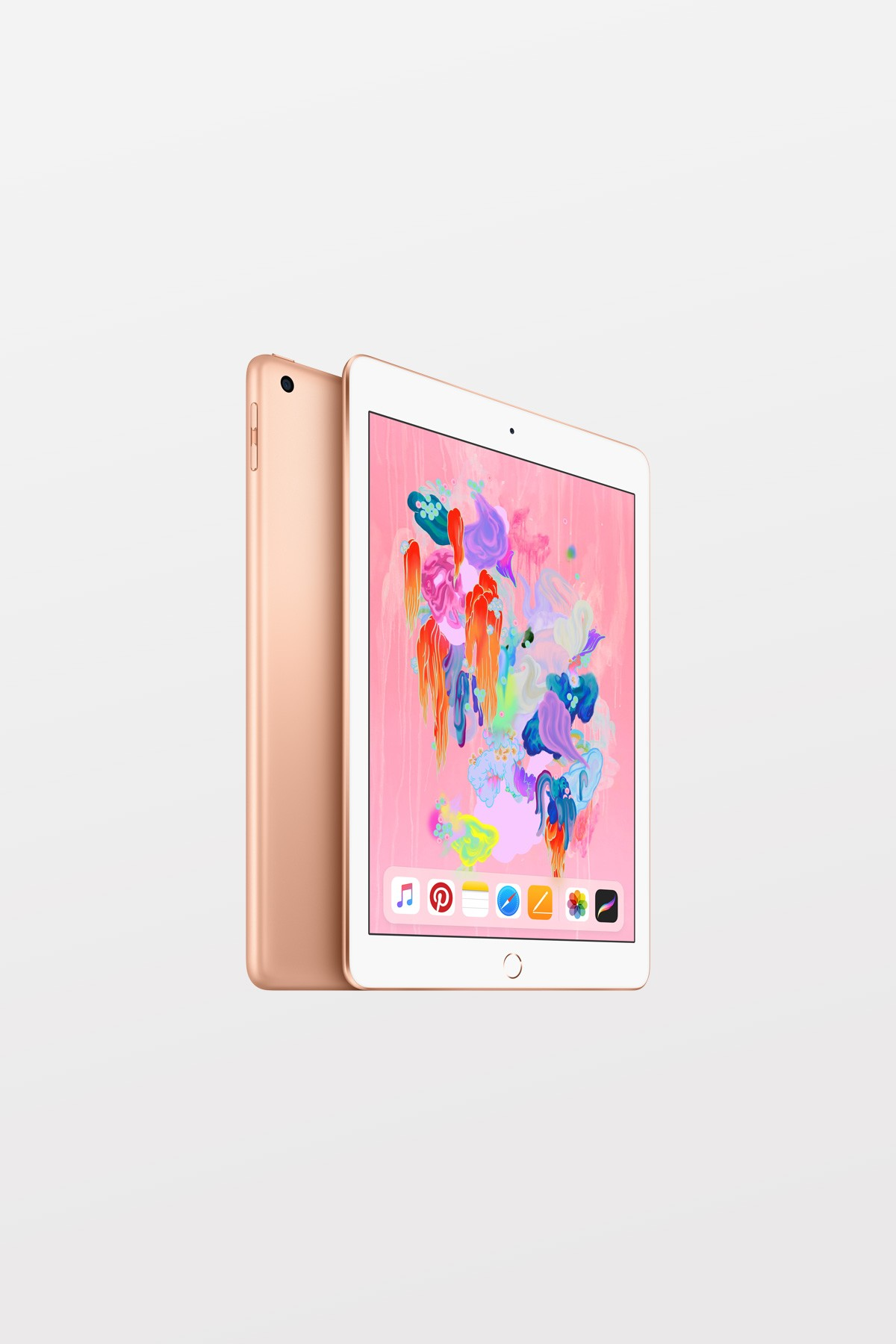Apple iPad Wi-Fi + Cellular 128GB (6th gen) - Gold - Supports Apple Pencil