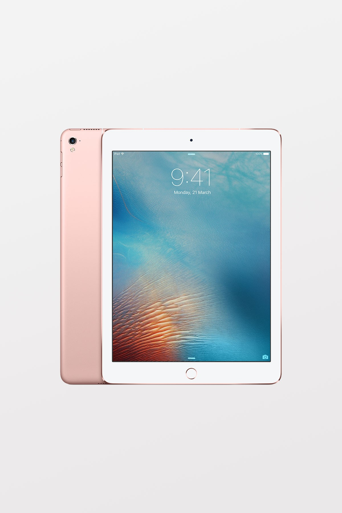 Apple iPad Pro 9.7-inch Wi-Fi Cellular 128GB - Rose Gold - Refurbished