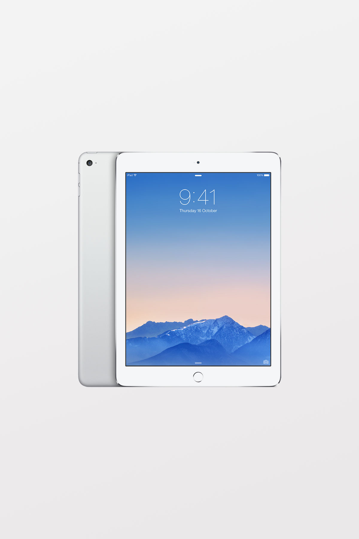 Apple iPad Air 2 128GB Wi-Fi - Silver Refurbished
