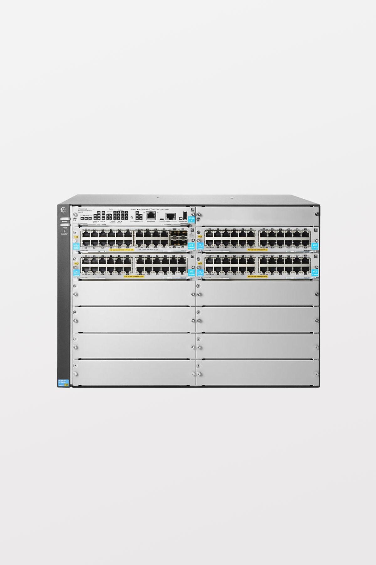Aruba 5412R 92GT PoE+/4SFP + v3 zl2 Switch Includes: Aruba 24p 1000BASE-T PoE + v3 zl3 Mod Includes: Aruba 20p PoE+/4p SFP+ v3 zl2 Mod