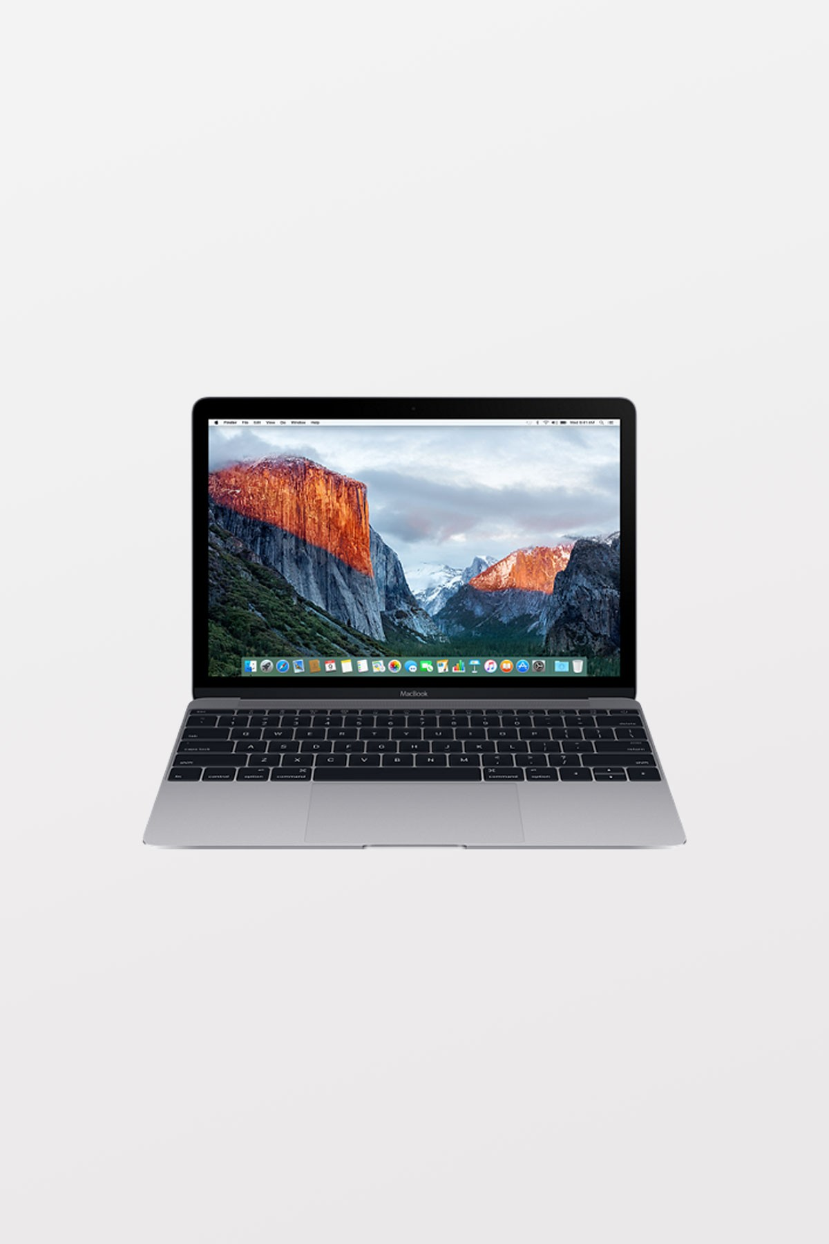 Apple MacBook Retina 12-inch (1.2GHz m3/8GB/256GB Flash/Intel HD Graphics 615) - Space Grey - Refurbished