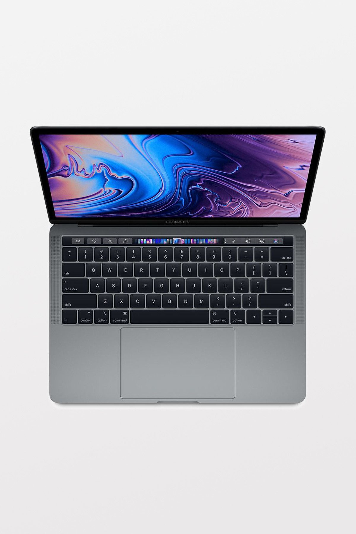 Apple MacBook Pro with Touch Bar 13-inch (2.3GHz i5/8GB/512GB Flash/Intel Iris Plus Graphics 655) - Space Grey- Refurbished