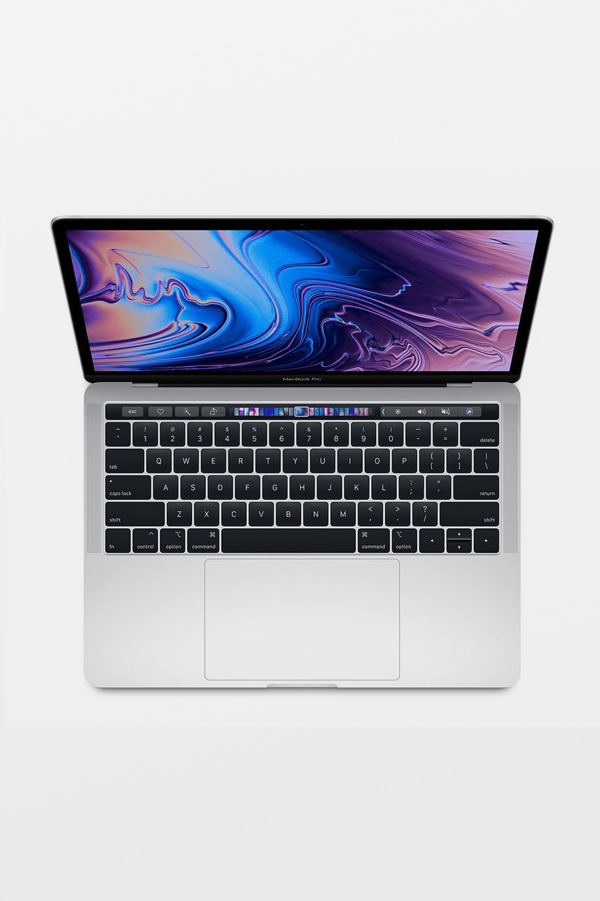 Apple MacBook Pro with Touch Bar 13-inch (2.3GHz i5/8GB/256GB Flash/Intel Iris Plus Graphics 655) - Silver - refurbished