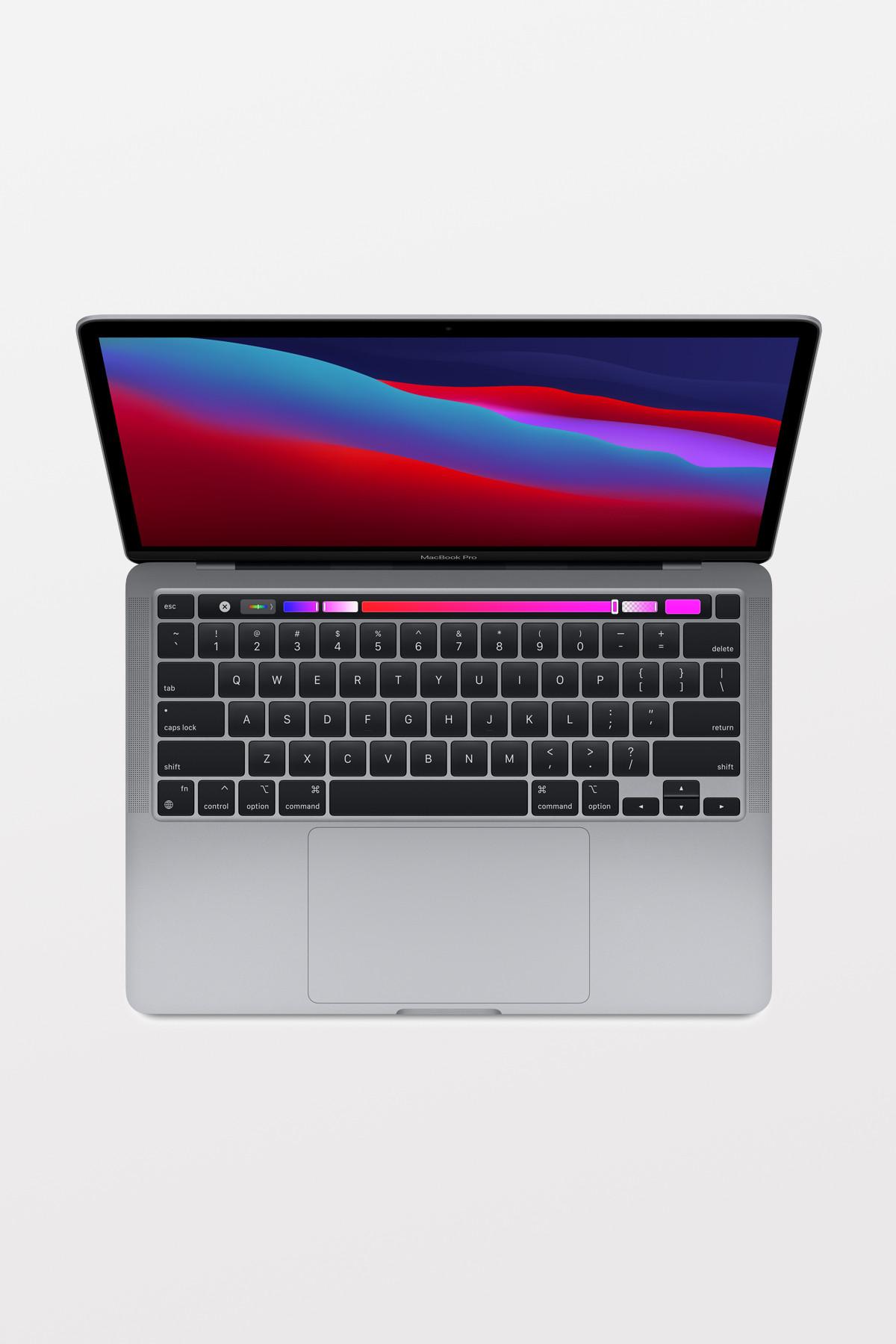 """MacBook Pro 13"""" - TouchBar - Space Grey/M1 8-Core CPU & 8-Core GPU/8GB/256GB"""