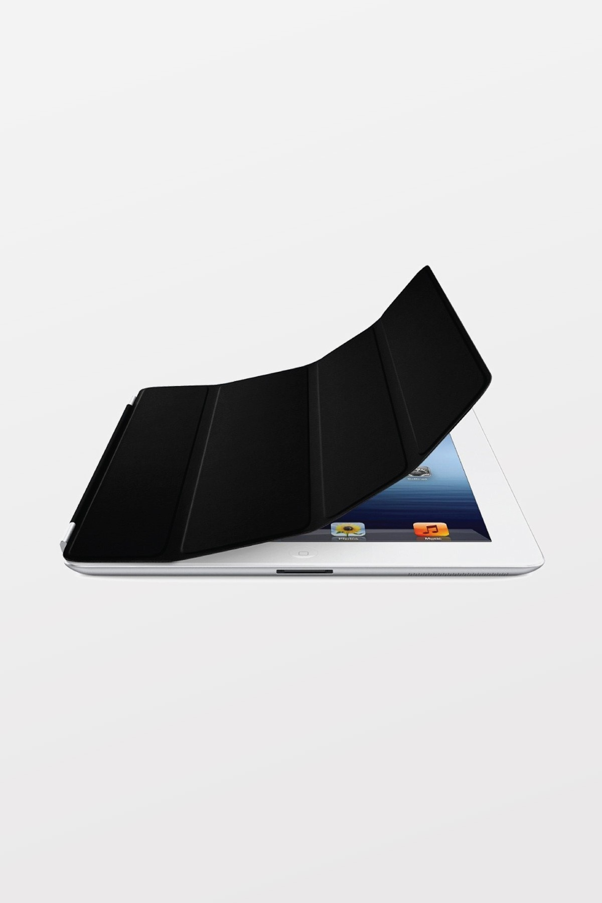 EOL Apple iPad Smart Cover - Leather - Black
