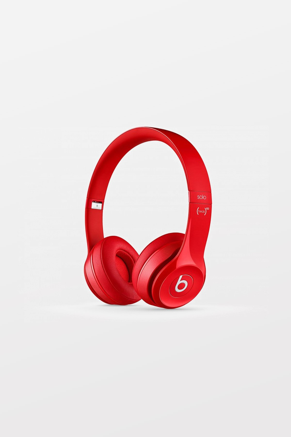 Beats By Dr Dre Solo2 Wired On-Ear Headphones - Red - Refurbished