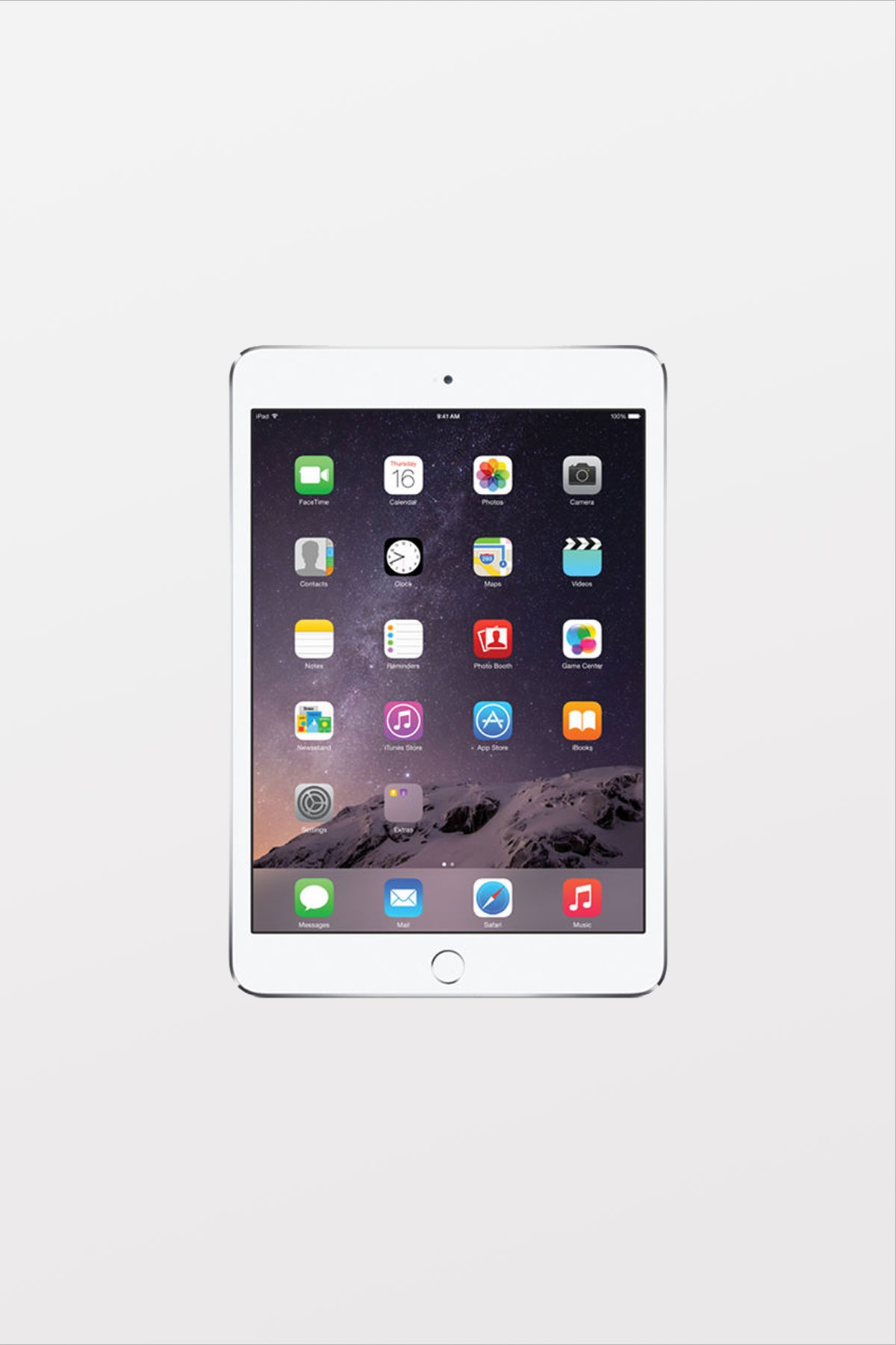 EOL Apple iPad mini 4 Retina Wi-Fi + Cellular 16GB - Silver