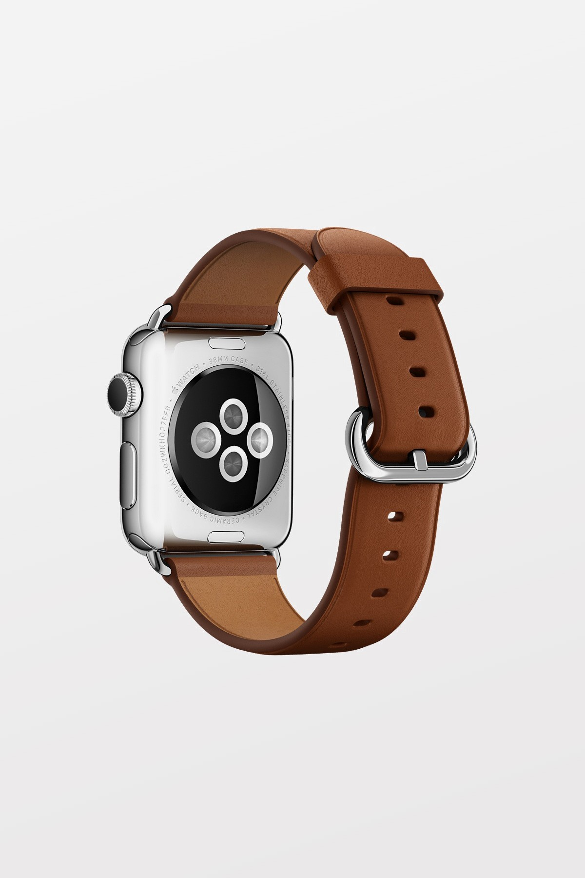 Apple Watch Band 42mm - Brown Classic Buckle