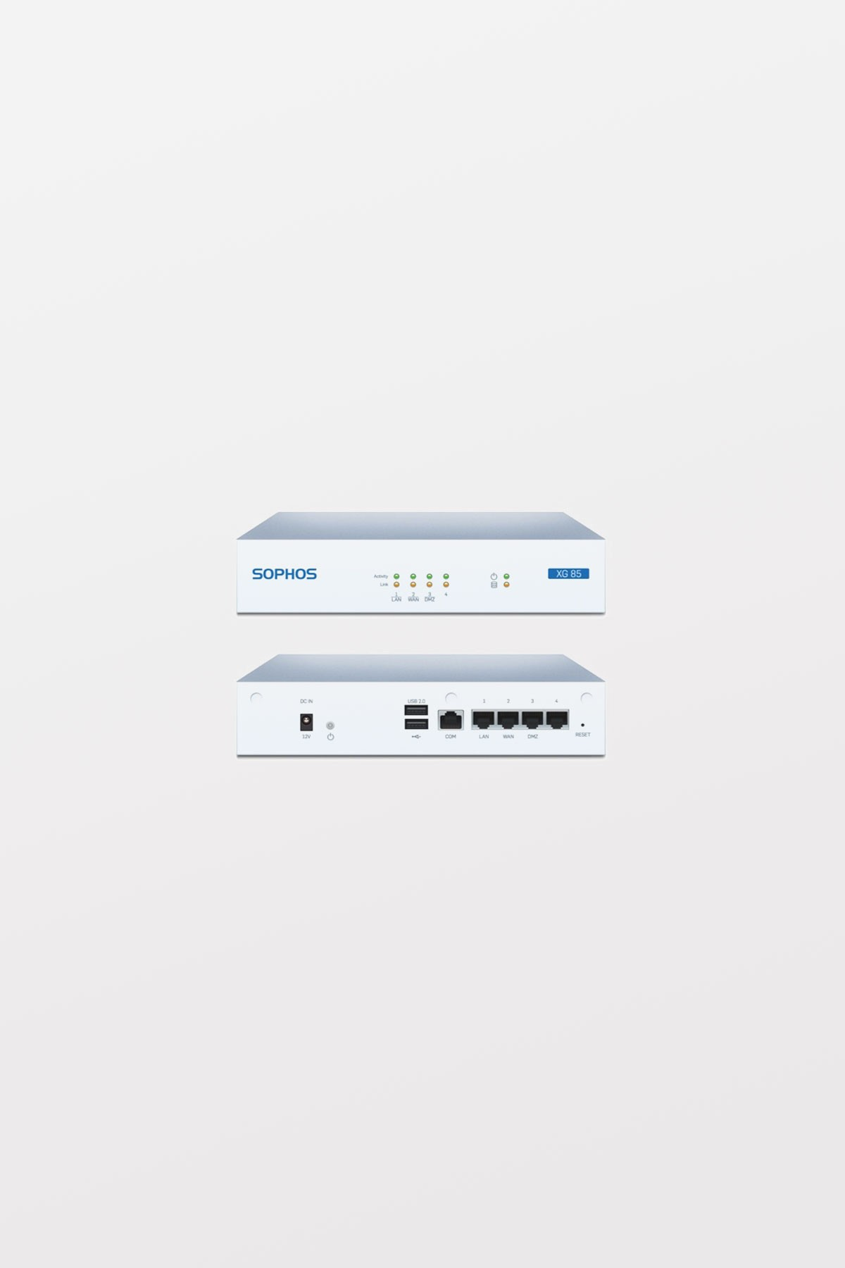 Sophos XG85 Firewall Appliance with TotalProtect License - 3-year (AU power cord)