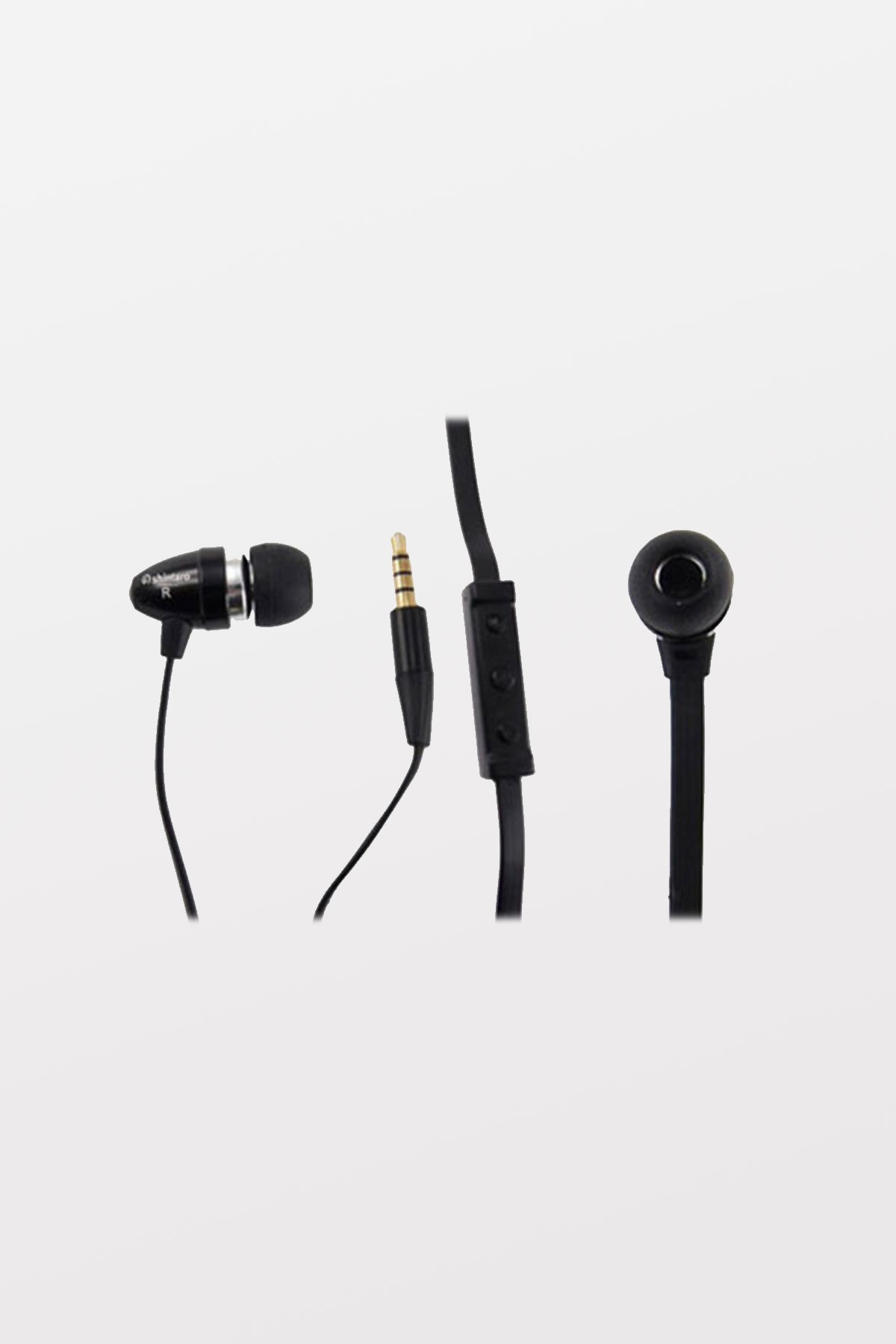Shintaro Stereo Earphone & Microphone Flat Cable