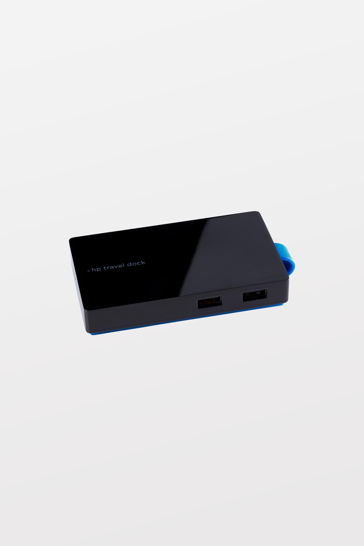 HP - USB Travel Dock - USB3/RJ45/HDMI/VGA