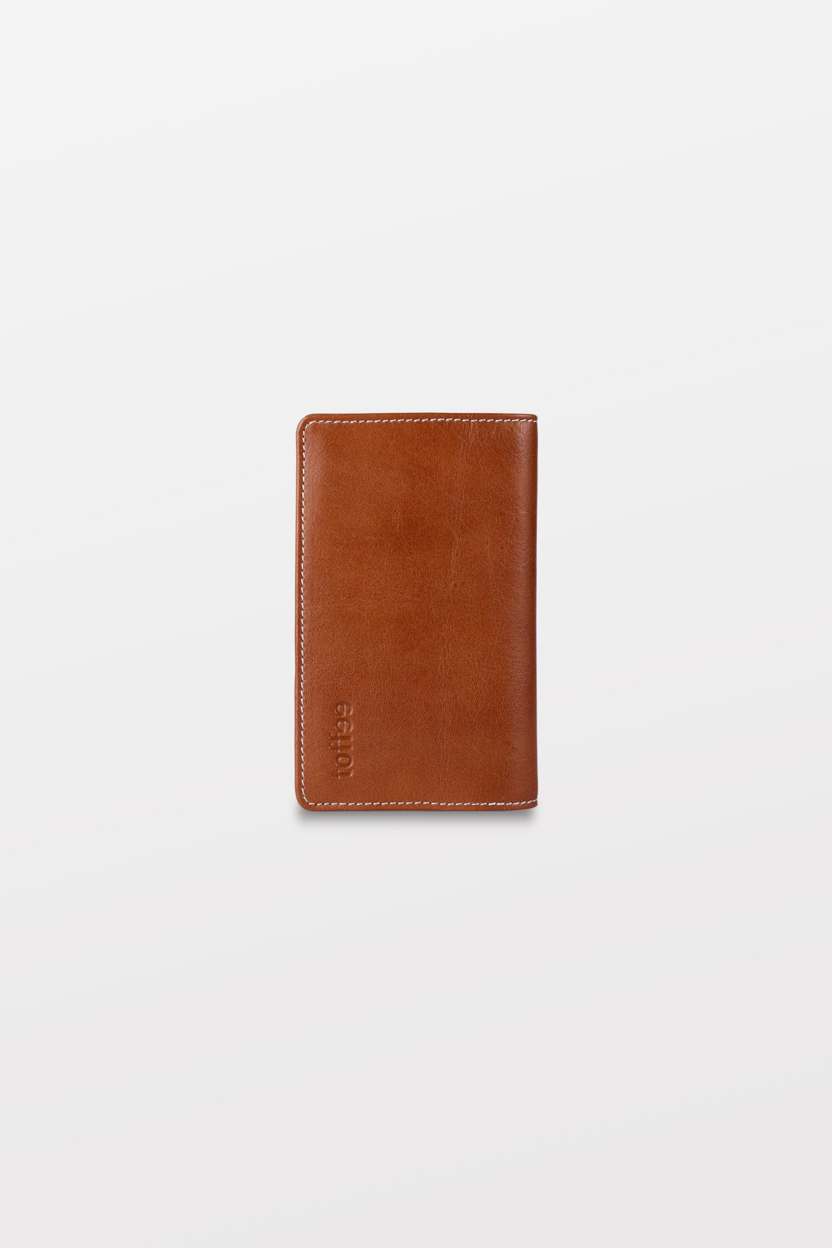 Toffee leather fold wallet for iPhone 5s - Tan