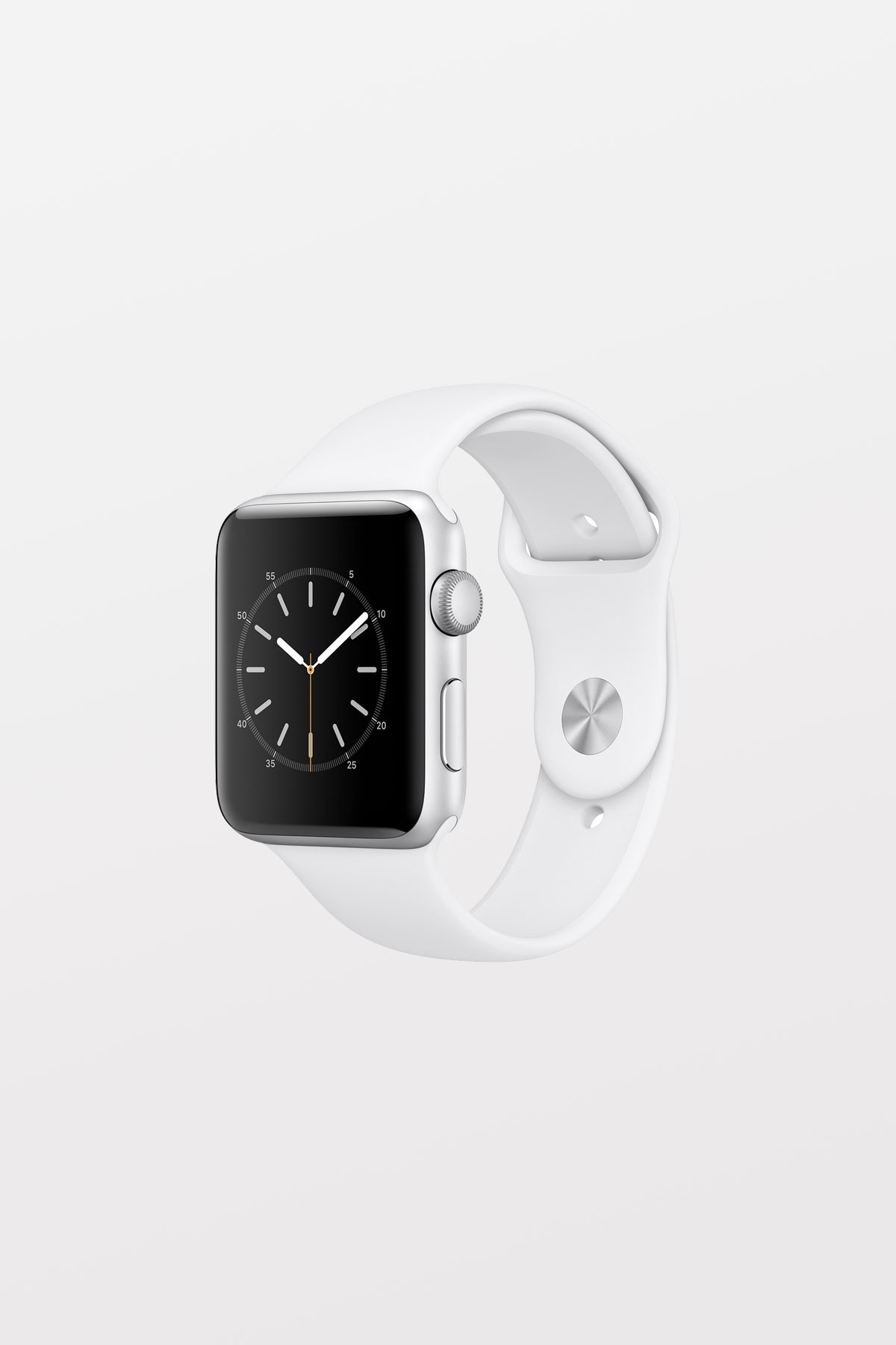 Apple Watch Series 2 - 42mm - Silver Aluminium, White Sport Band - Refurbished