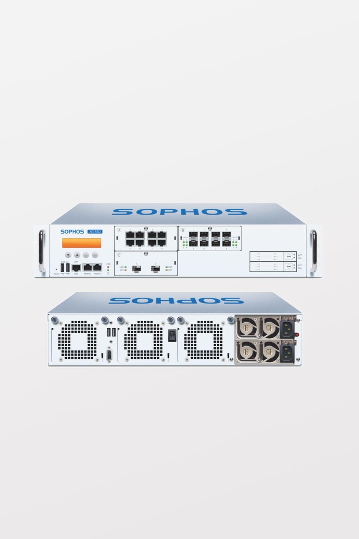 Sophos XG550 TotalProtect, 3-year (Appliance+FullGuard+Enh Sup.)