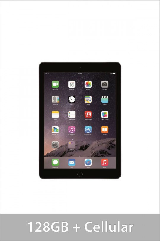 Apple iPad Air 2 128GB Wi-Fi + Cellular - Space Grey