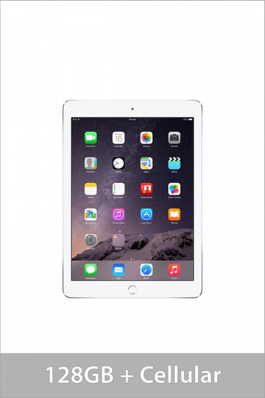 Apple iPad Air 2 128GB Wi-Fi + Cellular - Silver