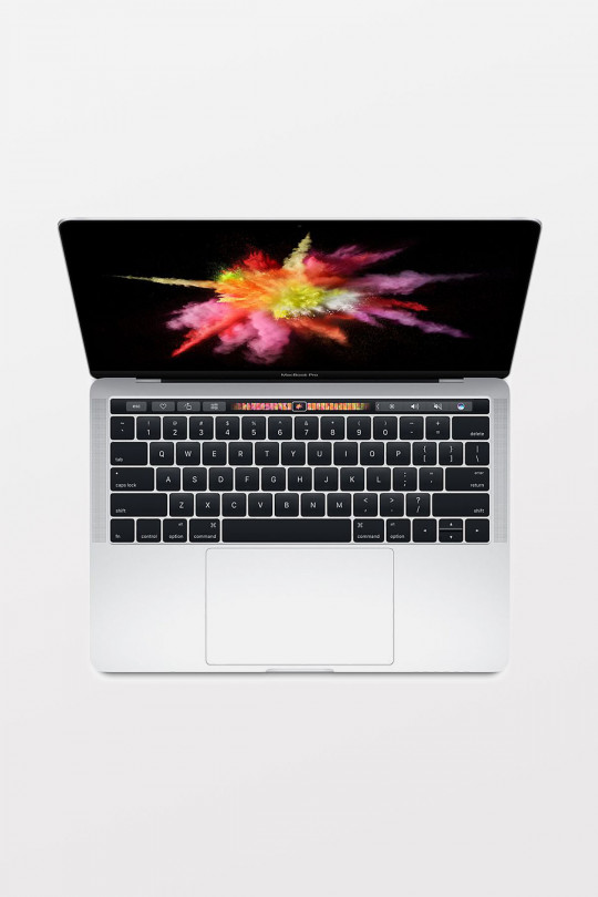 Apple MacBook Pro 13-Inch with Touch Bar: 2.9GHz i5/8GB/256GB/Intel Iris Graphics 550 - Silver