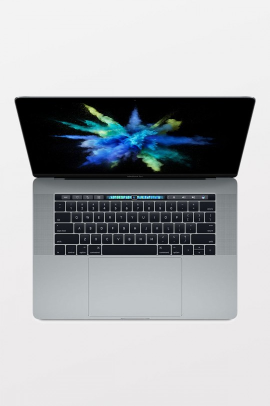 Apple MacBook Pro with Touch Bar 15-inch (2.7GHz i7/16GB/512GB Flash/Radeon Pro 455 2GB) - Space Grey - Apple Certified Refurbished