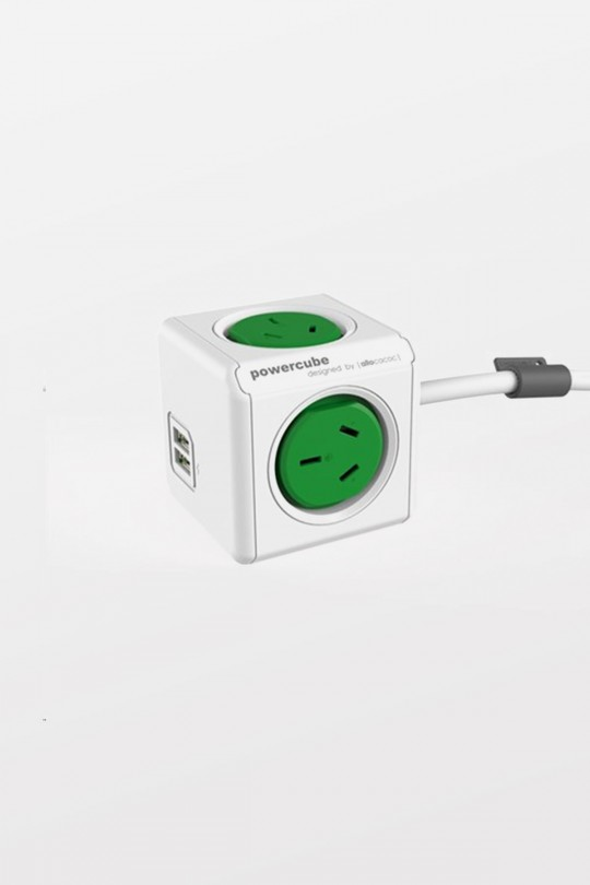 Powercube Extended USB - Green