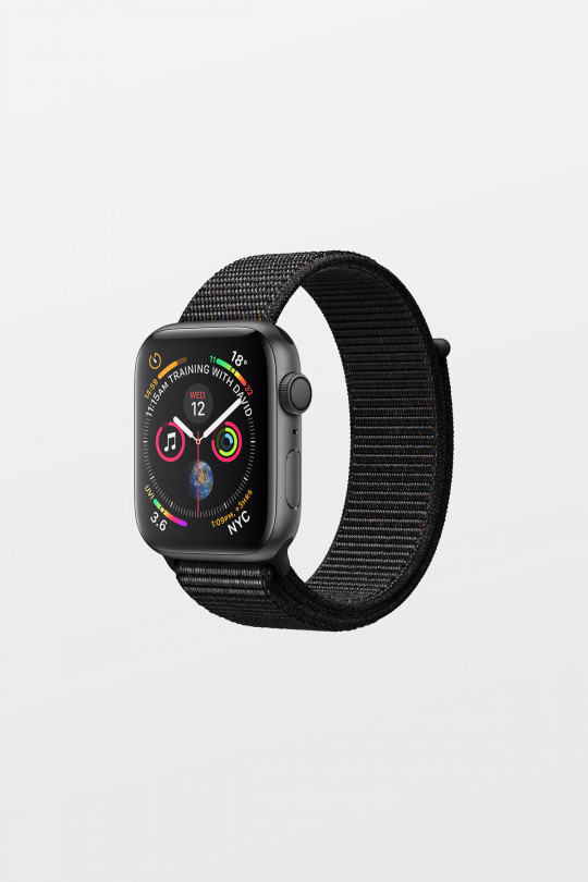 Apple Watch Series 4 - 40mm -  Space Grey Aluminium Case with Black Sport Loop