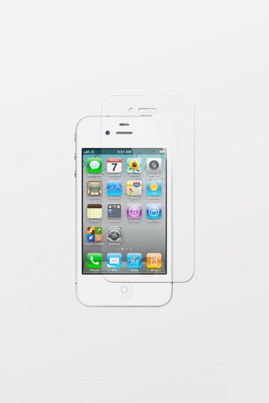 Max Premium Tempered Glass Screen Protector for iPhone 4/4S
