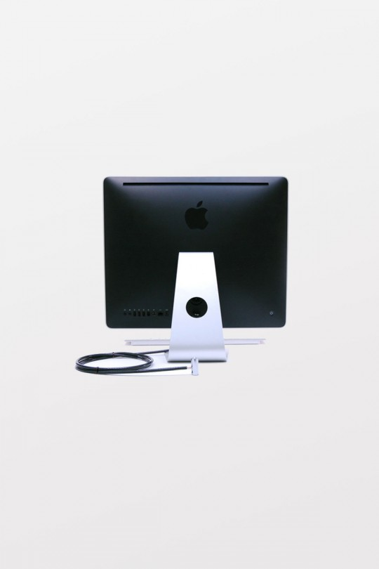 """Tryten PC/iMac T3 Lock Kit includes Keyed Cylinder Lock, 1/4""""(6.5mm) Security Cable, 2 Security Slot Clips, 1 Cable U Clip, 1 X Anchor, and glue"""