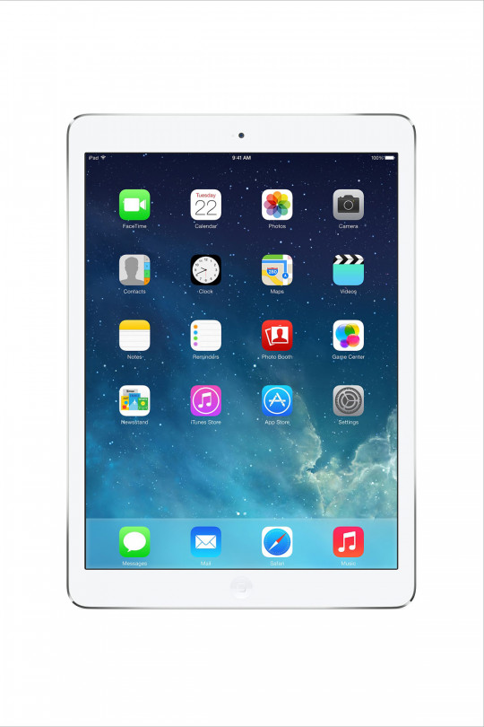 Apple iPad Air 2 128GB Wi-Fi + Cellular - Silver - Refurbished