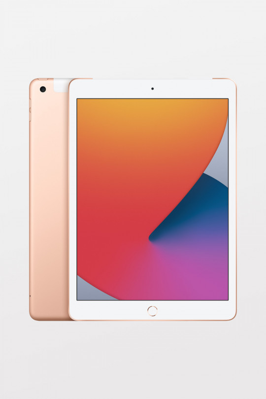 iPad (8th Gen) 10.2-inch Wi-Fi + Cellular 32GB — Gold