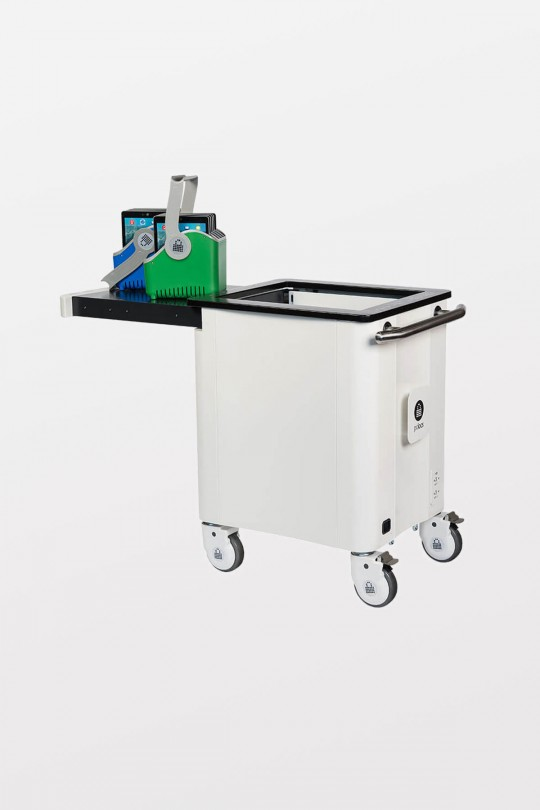 PC Locs iQ 20 iPad Cart 20 Bay Charge and Sync Cart