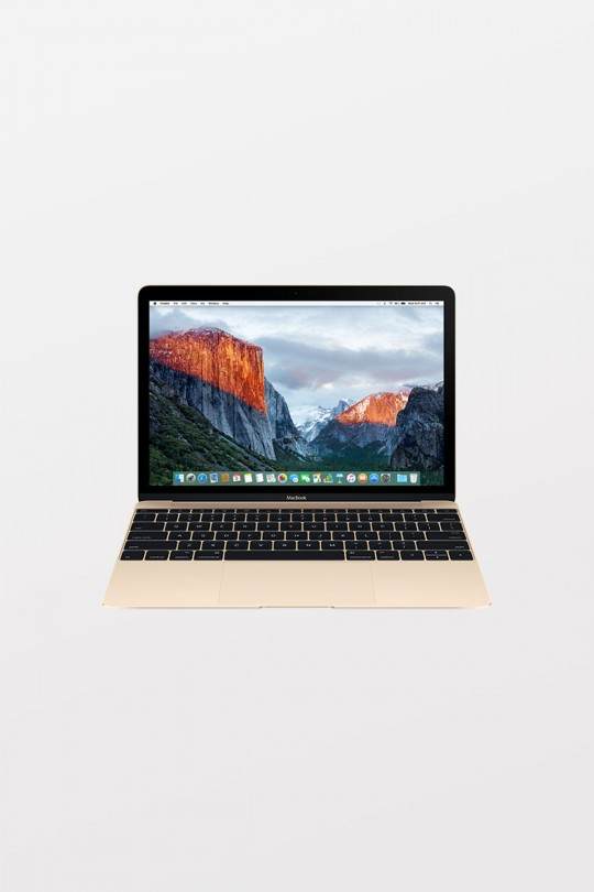 Apple MacBook Retina 12-inch (1.2GHz m3/8GB/256GB Flash/Intel HD Graphics 615) - Gold
