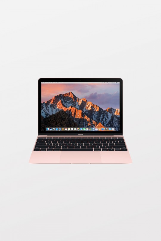 Apple MacBook Retina 12-inch (1.3GHz i5/8GB/512GB Flash/Intel HD Graphics 615) - Rose Gold