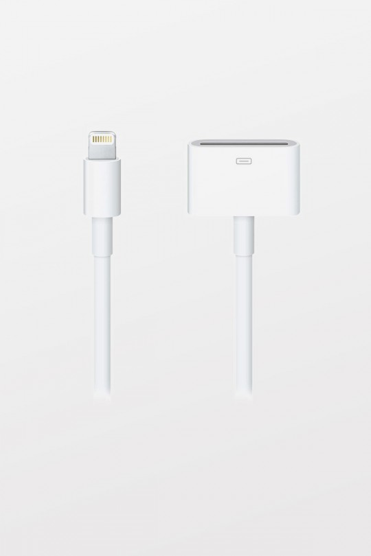 Apple Lightning to 30-pin Dock Adapter (0.2 m)