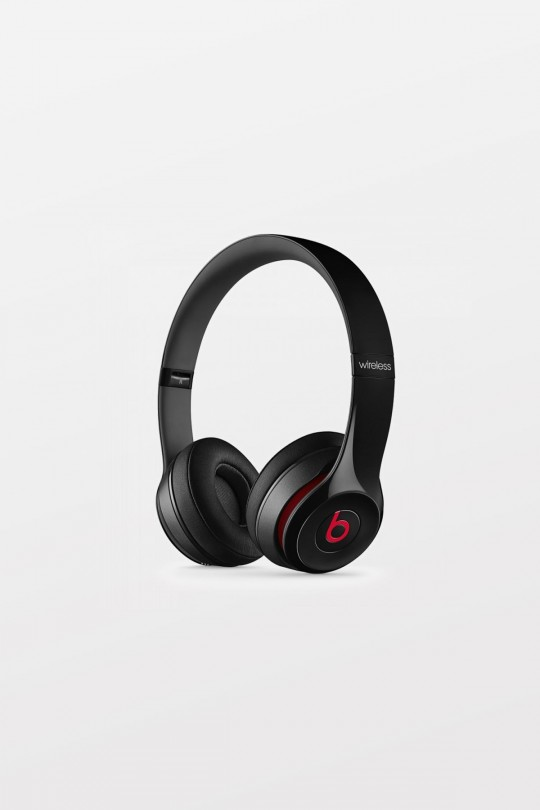 Beats By Dr Dre Solo2 Wired On-Ear Headphones - Black - Refurbished